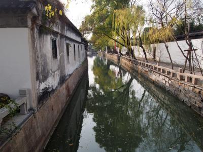 JALで行く>リッツカールトンに宿泊上海蟹を食す 上海・蘇州・無錫3日間市中連行ツアーを楽しむ♪②【蘇州・無錫って都会なんだ~】