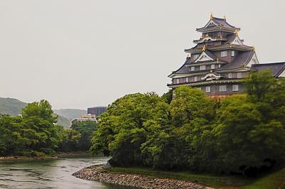香川・岡山ひとりアート巡りの旅。(5日目 雨の岡山。)