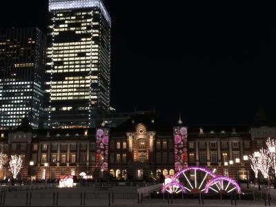 ようやく整備された東京駅前で東京ミチテラス