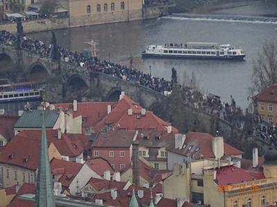 11月のプラハ 自由散策 プラハ空港両替薦めない
