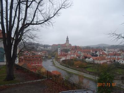 11月のチェスキークルムロフ、南ボヘミアプライベートツアー のプラス マイナス