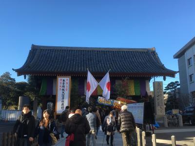 2018年1月 護国寺への初詣のついでに映画鑑賞