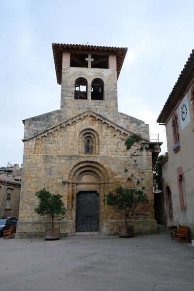 2017カタルーニャ紀行 セリニャのサン=アンドリュー教会(Església de Sant Andreu Serinyà)