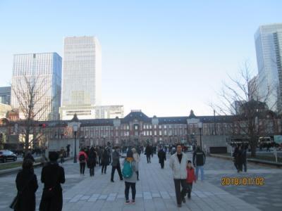 東京駅丸の内駅前広場完成