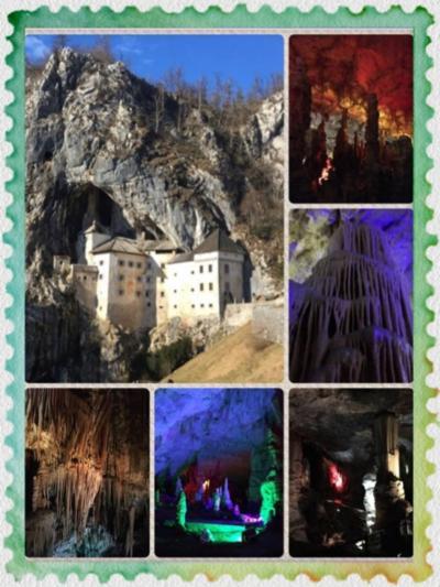 ・:*+2017クリスマス(2)+*:・inポストイナ ~ポストイナ 鍾乳洞,プレジャマ城(洞窟城)