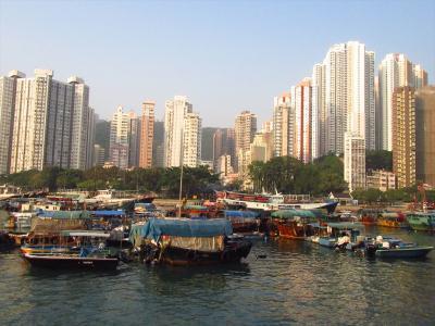 香港2★まったり離島さんぽ 夕食は市場で海鮮 ~鴨脷洲Ap Lei Chau~
