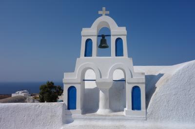 ギリシャでハネムーン~アテネ・クレタ・サントリーニ~ Day5 憧れの青と白の街イア