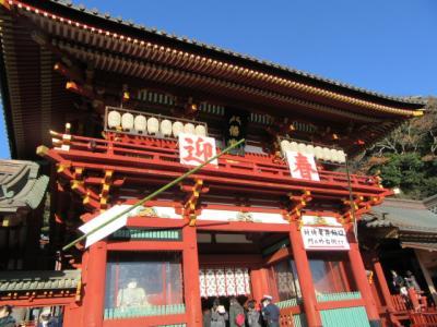 鎌倉初詣と横浜中華街