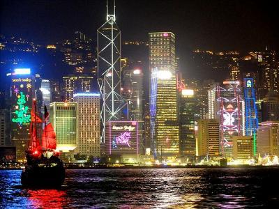 ★2018年へのカウントダウンは香港で