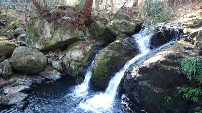 るり渓谷で愉しみました。