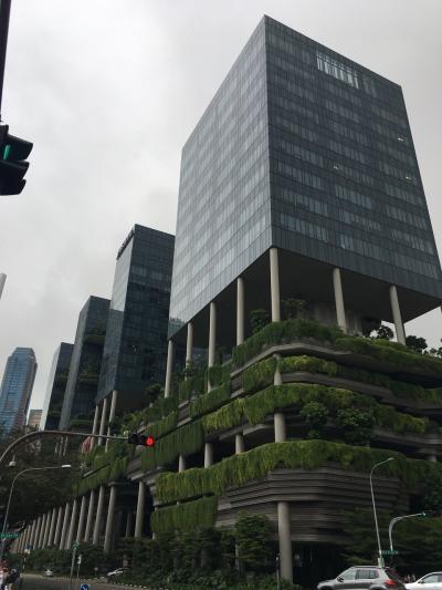 2017年末 ANAプレエコで行く初めてのシンガポール パークロイヤルオンピッカリング宿泊Vol.2