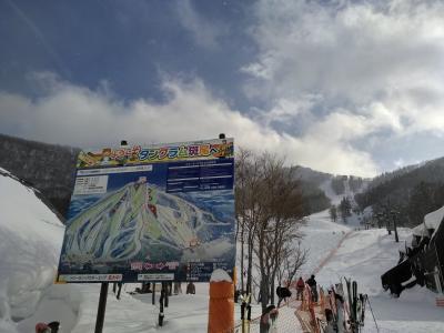斑尾東急タングラムでの年末年始スキー