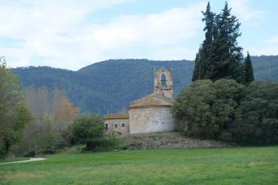 2017カタルーニャ紀行 サンタ=マリア=ポルケラス教区教会(Parroquia Santa María de Porqueres)