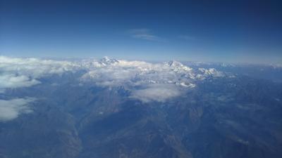 ネパール旅行(その1) 関西→成都→カトマンズ