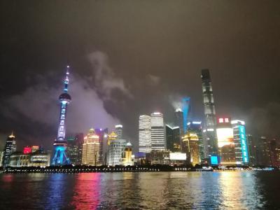 2018年のカウントダウンはヨーロッパへ☆1日目は上海へと脱出。
