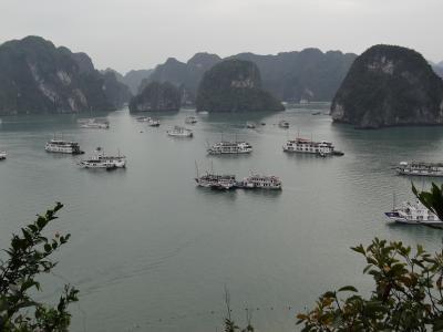 ベトナム<ハロン湾クルーズ(2)>(2017年 年末 2日目)