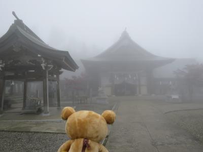 西日本最高峰石鎚山に登って来るクマ 西日本最高峰の頂へ①