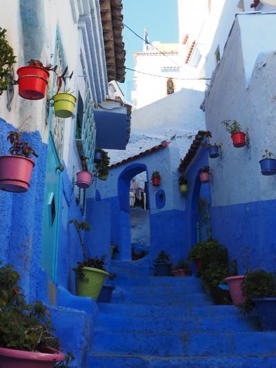 激走2400km 悠久のモロッコ 8日間の旅  フォトジェニックな青い街・シャウエン篇