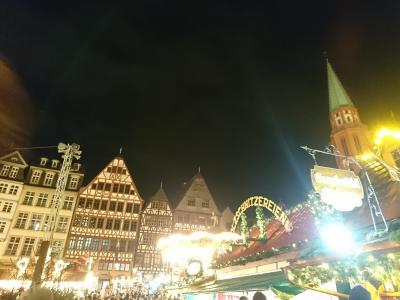 フランクフルトのクリスマスマーケット1泊3日♪