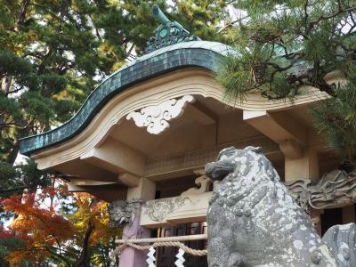 浜松元城町東照宮 出世神社 徳川家康寝食した場所。家康と秀吉の像・ハート灯籠が恋愛成就スポット!