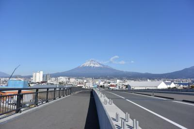散歩 今日もお天気が良いので富士山を見ながら歩きました 2018.01.06