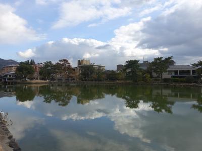 正月の奈良街歩き さるさわ池よしだやに宿泊