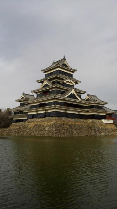 戸倉上山田温泉 1日目 松本城へ寄り道