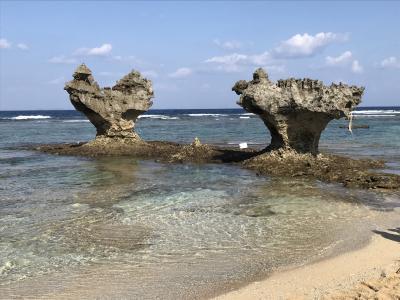 帰省の前に、沖縄へ