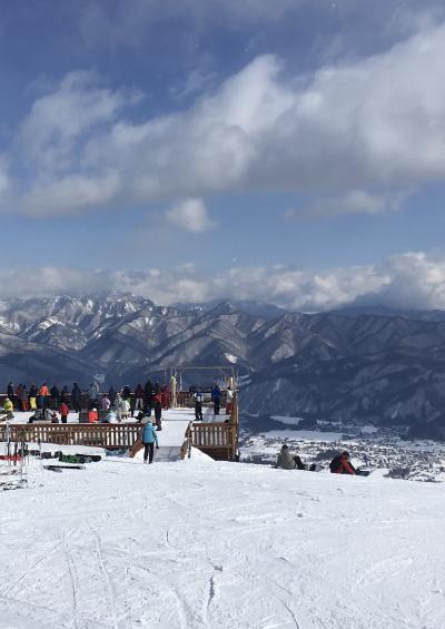 2018年 白馬村から~♪ 1月2日のゲレンデは晴れのち曇り!!それでも我が家のスキーヤーは大満足(*'▽')/