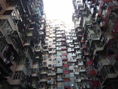 クリスマスの香港、マカオ、ちょこっと中国(珠海)親子旅行 1日目