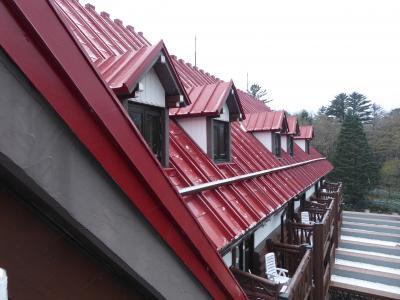 晩秋の上高地♪ Vol21(第3日) ☆「上高地帝国ホテル」デラックスルームから初雪の上高地を眺めて♪