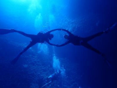 パラオ初ダイビング2
