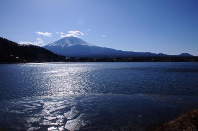 臨時快速で行く新春の富士北麓