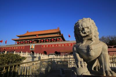 2017年12月~2018年1月 今年のお正月は北京に行って来ました!(4)天安門編