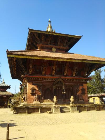 ネパール旅行(その3)ナガルコット→チャングナラヤン→カトマンズ(徒歩)車のない異様な世界