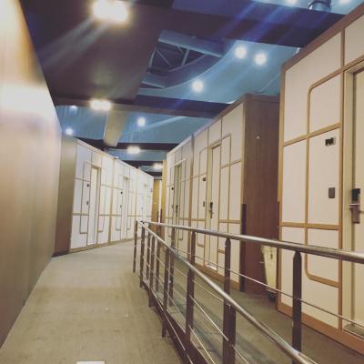 [新春ソウル2018-04]仁川国際空港のカプセルホテル「Darakhyu」に宿泊
