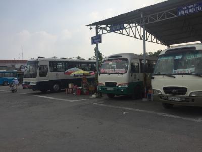 ベトナムでバス移動