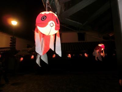 金魚ちょうちんの泳ぐ町柳井にいってきた