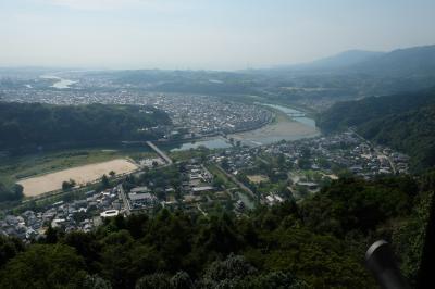 母、初めての広島