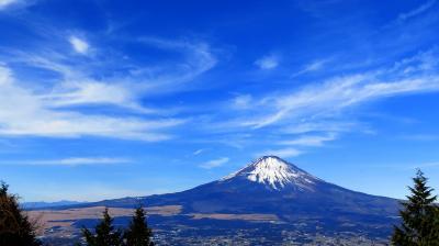 サクッと登り初め2018 箱根外輪山から富士を眺める山歩き