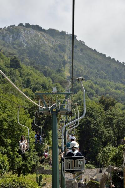 二度目の南イタリアは「絶景を楽しむ」がテーマ ~PART4(カプリ島2日目午後はアナカプリの街歩き~3日目バイバイカプリ島また来るね)