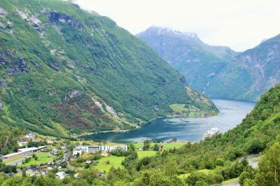 二度目の北欧はノルウェー旅行!⑩~雨のガイランゲルフィヨルド~