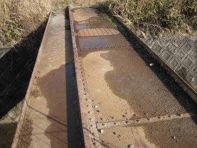 初瀬路古道6:番外編 「旧伊賀鉄道ミニトレイン軌道」 探索と遺跡発見