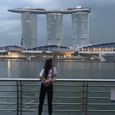 思春期娘とのはじめてシンガポール