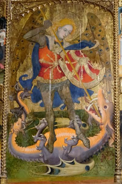 2017カタルーニャ紀行 サン=ミケール=デ=クルールス修道院(Monasterio de Sant Miquel de Cruïlles)