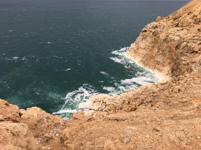 神秘の遺跡があるヨルダンに行ってきました!(地球上で最も標高が低い死海)