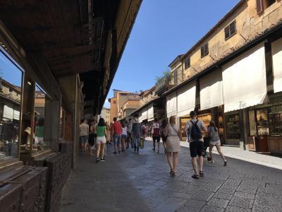 夏のバケーション:イタリア3都市 -1 フィレンツエへ