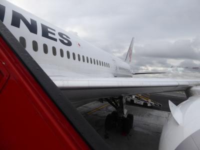 JALのPエコノミーで東京(HND,NRT)⇔ヨーロッパ(パリ、ヘルシンキ)往復