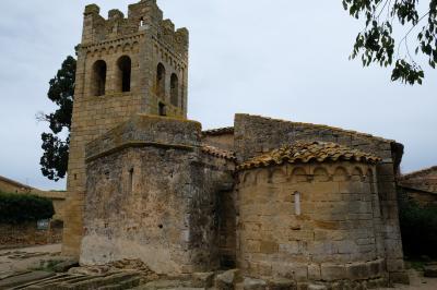 2017カタルーニャ紀行 低エンポラーダ地方のロマネスク教会(Romanesque Churches of the Baix Empordà)