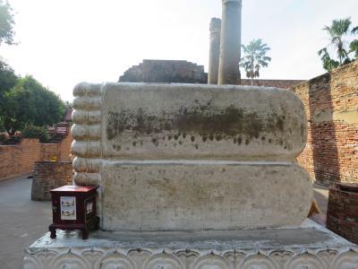 2017 12月バンコクにも家ができました⑱~3回目のバンコク年末年始4 アユタヤ遺跡へ~